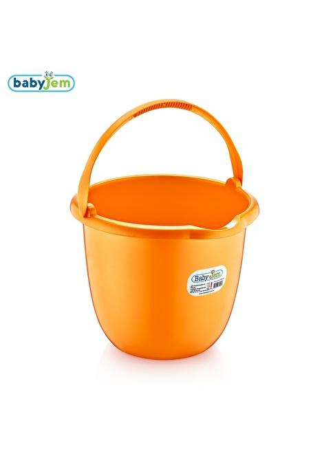 Baby Jem Babyjem Bebek Banyo Kovası  Oranj